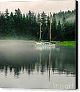 Morning Fog Canvas Print by Robert Bales