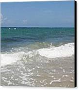 Morning On Boynton Beach 4 Canvas Print by Shawn Lyte