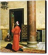Morning Prayers Canvas Print