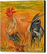 Morning Stroll Canvas Print by Louise Burkhardt