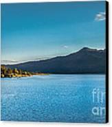 Morning View Of Cascade Reservoir  Canvas Print