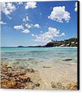 Morningstar Beach Canvas Print by Jo Ann Snover
