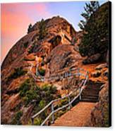 Moro Rock Path Canvas Print by Inge Johnsson
