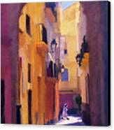 Moroccan Light Canvas Print by Bob Galka