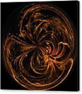 Morphed Art Globe 40 Canvas Print