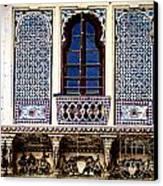 Mosaic Windows Canvas Print by Catherine Arnas