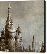 Moscow Canvas Print by Bernard Jaubert