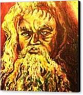 Moses At The Burning Bush Canvas Print