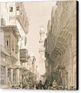 Mosque El Mooristan Canvas Print by David Roberts