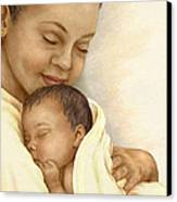Mother Canvas Print by Beverly Levi-Parker