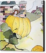 Mother Goose: Pumpkin Canvas Print