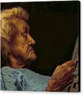 Mother Canvas Print by Hazel Billingsley