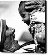 Mother Teresa Holds Baby Canvas Print