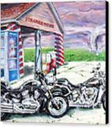 Motorcycles Canvas Print by Chris Dreher