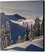 Mount Baker Snowscape Canvas Print by Mike Reid