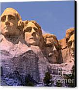 Mount Rushmore Canvas Print by Olivier Le Queinec