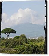 Mount Vesuvius Canvas Print