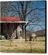 Mountain Cabin In Tennessee 2 Canvas Print by Douglas Barnett