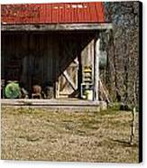 Mountain Cabin In Tennessee 3 Canvas Print