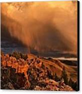Mountain Drama Canvas Print