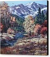 Mountain Glory Canvas Print by W  Scott Fenton