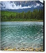 Mountain Lake Canvas Print by Elena Elisseeva