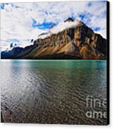 Mountain Lake Scenic Canvas Print