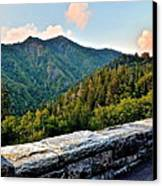 Mountain Overlook Canvas Print