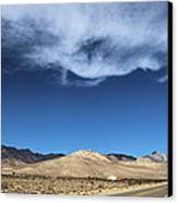 Mountain Range Of Sierra Nevada Canvas Print