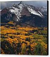 Mountainous Storm Canvas Print