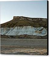 Mountains In The Desert. Canvas Print by Alexandr  Malyshev
