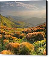 Mountains Landscape Canvas Print by Boon Mee