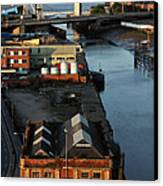 Mouth Of The River Hull Canvas Print by Anthony Bean