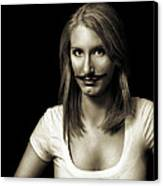 Movember Second Canvas Print by Ashley King