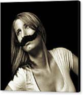 Movember Seventeenth Canvas Print