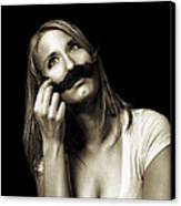 Movember Seventh Canvas Print by Ashley King