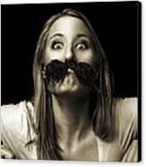 Movember Twelfth Canvas Print by Ashley King
