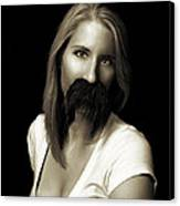 Movember Twentieth Canvas Print by Ashley King