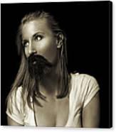 Movember Twentyninth Canvas Print by Ashley King
