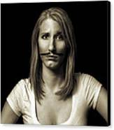 Movember Twentyseventh Canvas Print