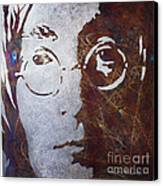Mr Lennon Canvas Print by Chris Mackie