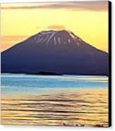 Mt. Edgecombe Bright Sunset Canvas Print by Ashley  Kinney-Maravilla