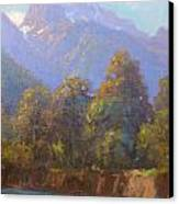 Mt. Tewhero Holyford V.landscape Canvas Print by Terry Perham