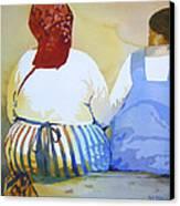 Muchachas Canvas Print