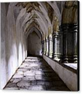 Muckross Abby Cloister Killarney  Ireland Canvas Print