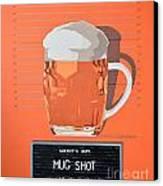 Mug Shot Canvas Print