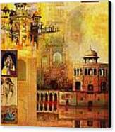 Mughal Art Canvas Print
