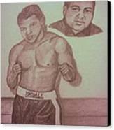 Muhammad Ali Canvas Print by Christy Saunders Church