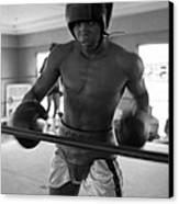 Muhammad Ali Works Out  Canvas Print by Retro Images Archive