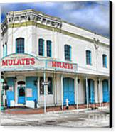 Mulates New Orleans Canvas Print